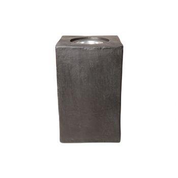 Kaarshouder outdoor ficonstone 25x25x60cm - 2837224