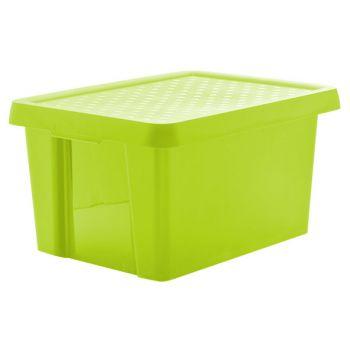 Curver Essentials opbergbox groen incl deksel 16L