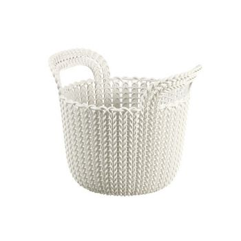 Curver Knit Mand Oasis White Rond 3L