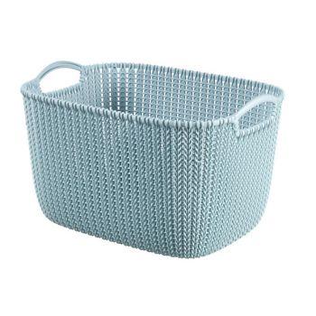 Curver Knit Mand Misty Blue 19L
