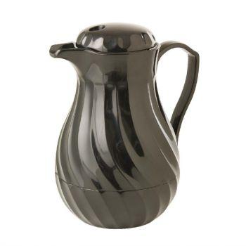 Kinox koffie isoleerkan zwart 1.8L