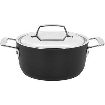 Alu Pro 5 Kookpot 20 Cm Met Deksel Inox Demeyere 13320