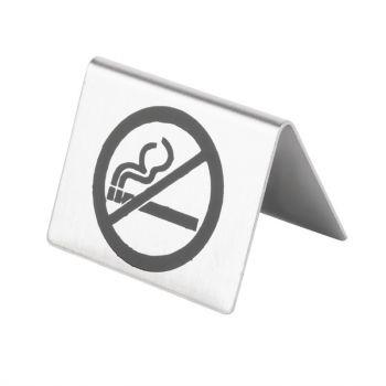 Olympia RVS tafelbordje Niet Roken