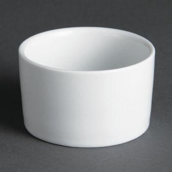 Olympia Whiteware eigentijdse ramekins 7cm