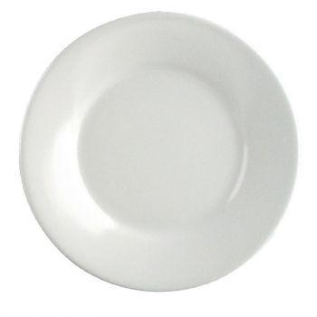 Kristallon melamine borden met brede rand 15cm